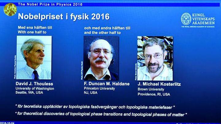 El Nobel de Física para tres británicos por investigar materiales innovadores