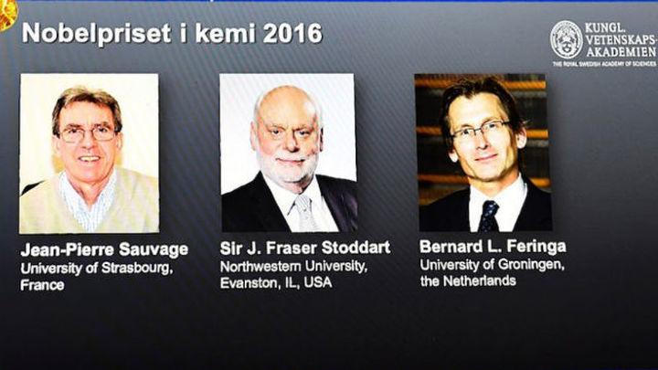 El diseño de las máquinas más pequeñas  del mundo, Premio Nobel de Química