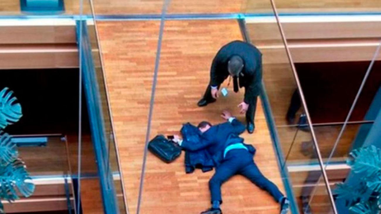 El favorito a liderar el UKIP hospitalizado tras una pelea en la reunión de su partido