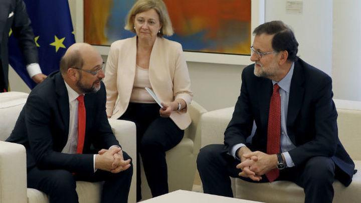Schulz sugiere que no conviene sancionar a España por incumplir el déficit