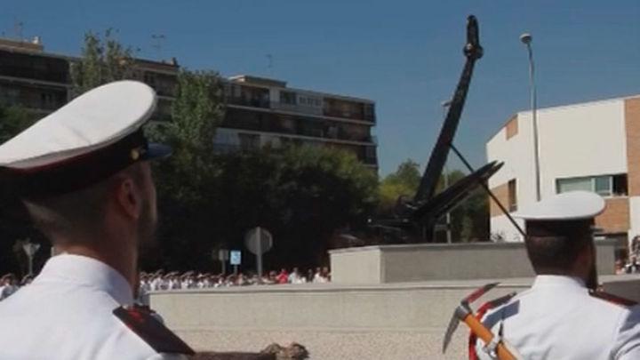 La Armada conmemora en Alcalá la batalla de Lepanto