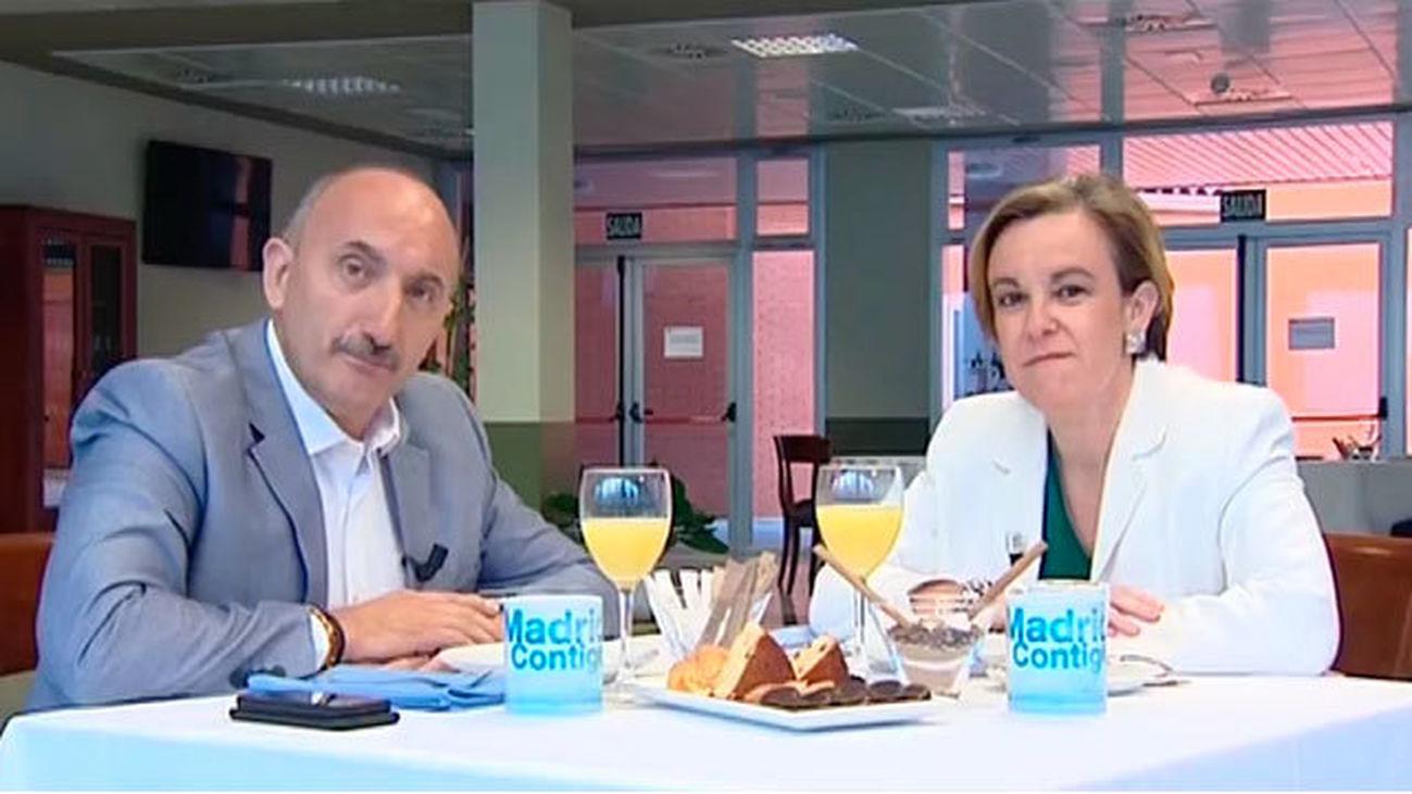 Purificación Causapié, portavoz del PSOE en el Ayuntamiento