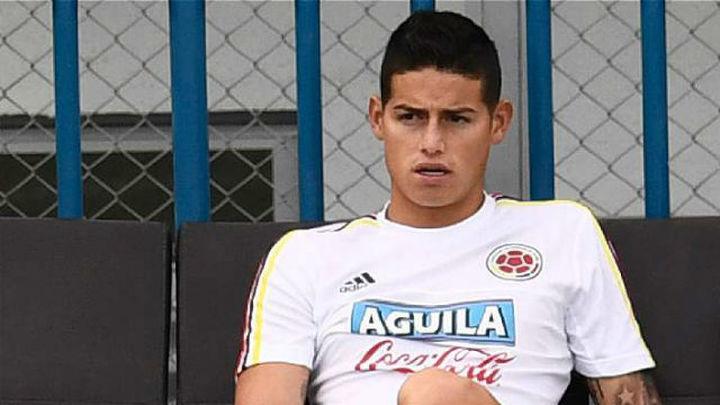 James Rodríguez regresa a Madrid tras no recuperarse