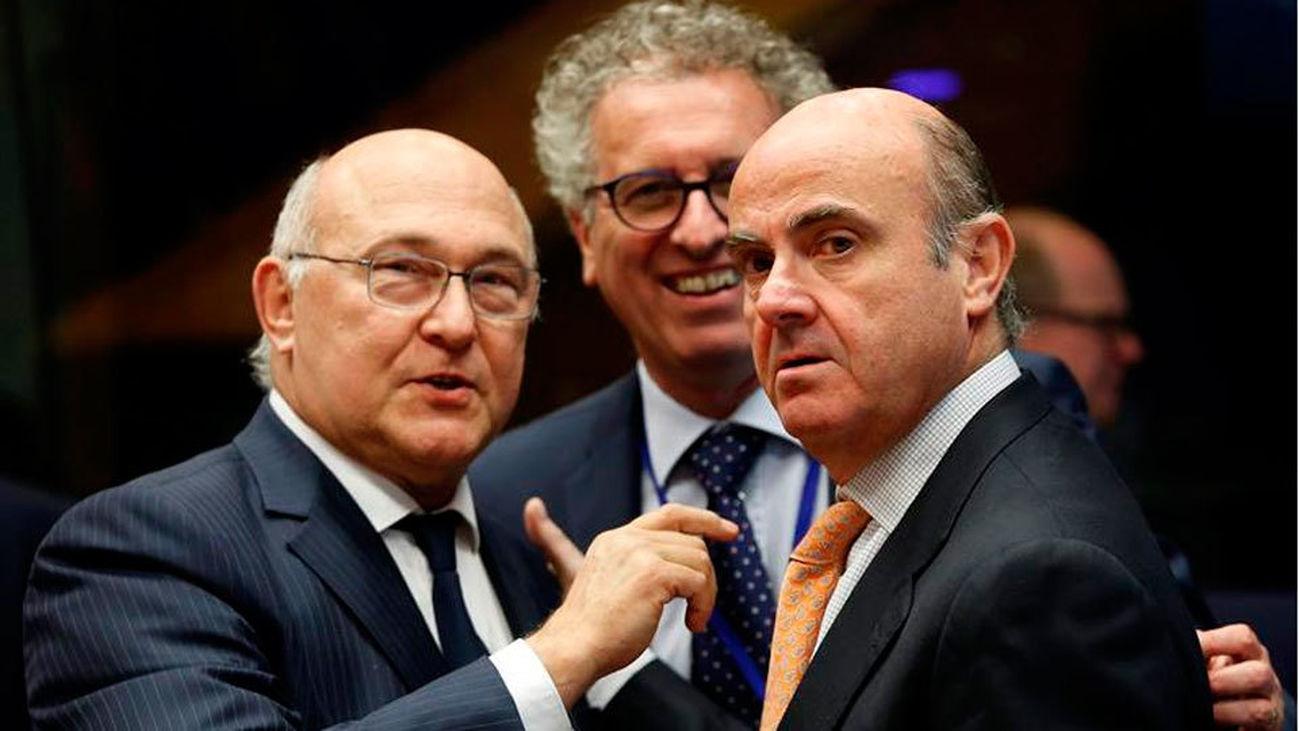De Guindos asiste a la reunión del Eurogrupo en Bruselas