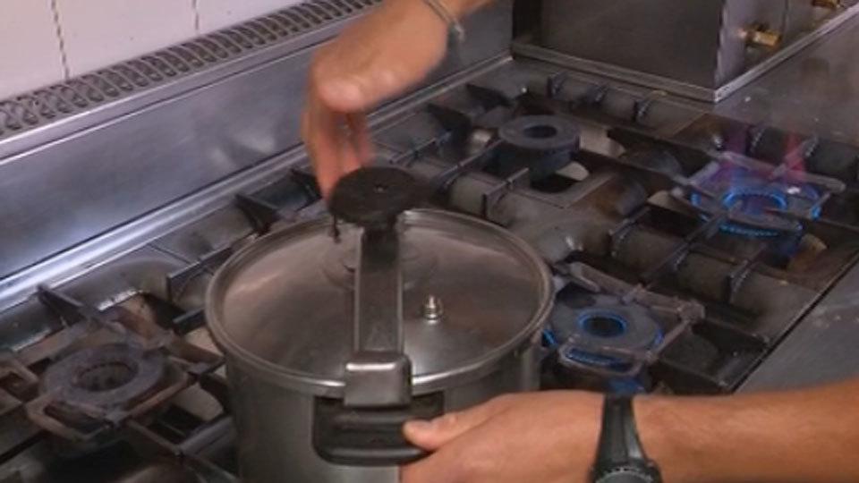 La explosión de una olla exprés puede causar serias quemaduras