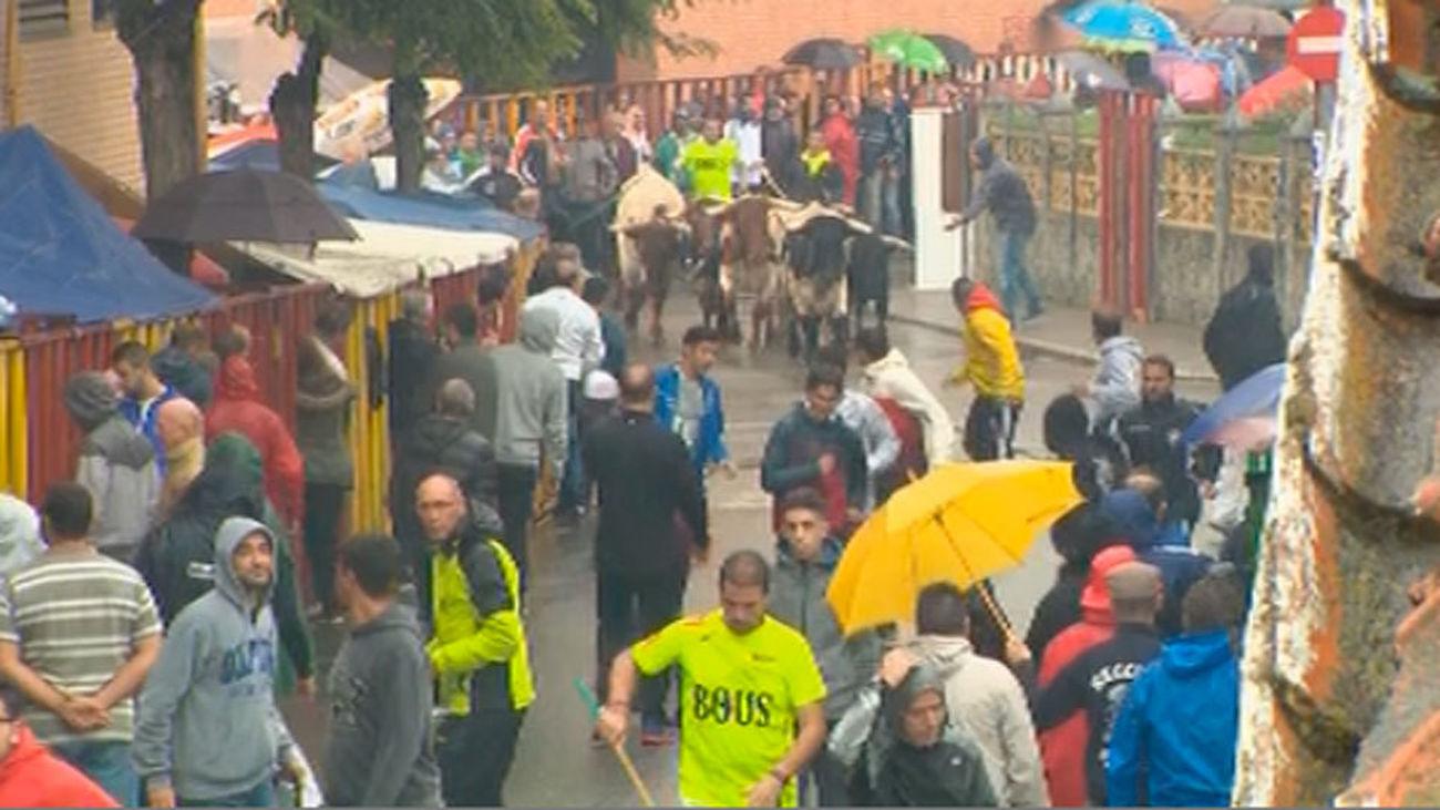 Comienzan las fiestas en Mejorada del Campo con los primeros encierros