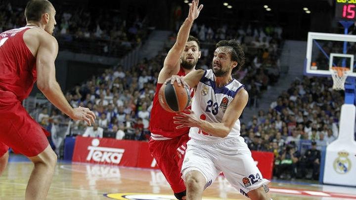 83-65. El Madrid arranca la Euroliga con un recital de Llull ante Olympiacos