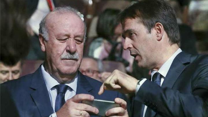 "Lopetegui: ""Espero ser un digno sucesor de Vicente del Bosque"""