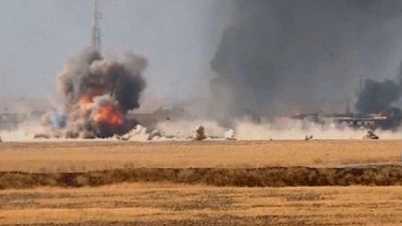 Sigue la ofensiva militar en Irak para recuperar Mosul en manos de los terroristas del EI