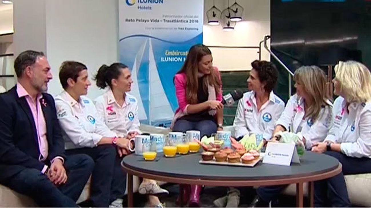 Embarcarse contra el cancer de mama
