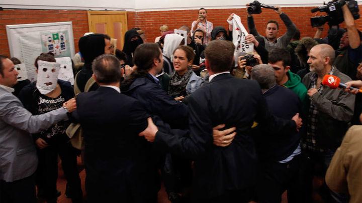 La Autónoma investigará si quienes boicotearon a González son alumnos