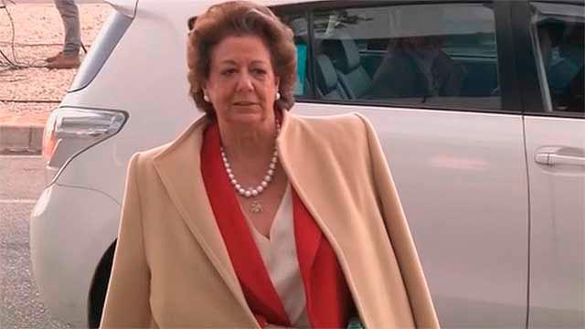 La senadora y exalcaldesa de Valencia, Rita Barberá