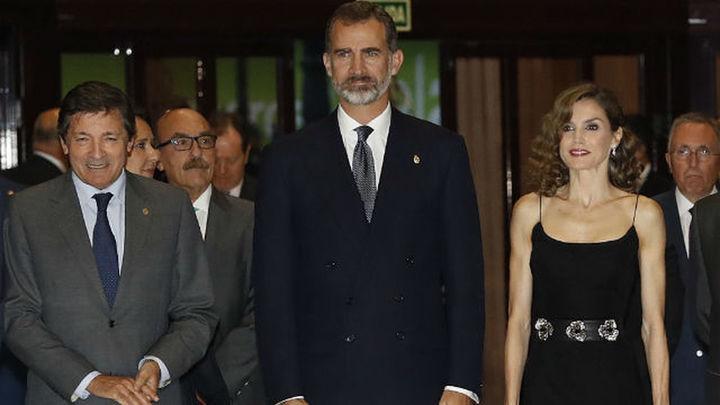 Asturias recibe a los Reyes con el tradicional concierto previo a los Premios