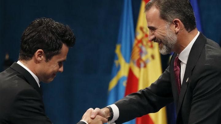 Gómez Noya recibe el Premio Princesa de Asturias de los Deportes