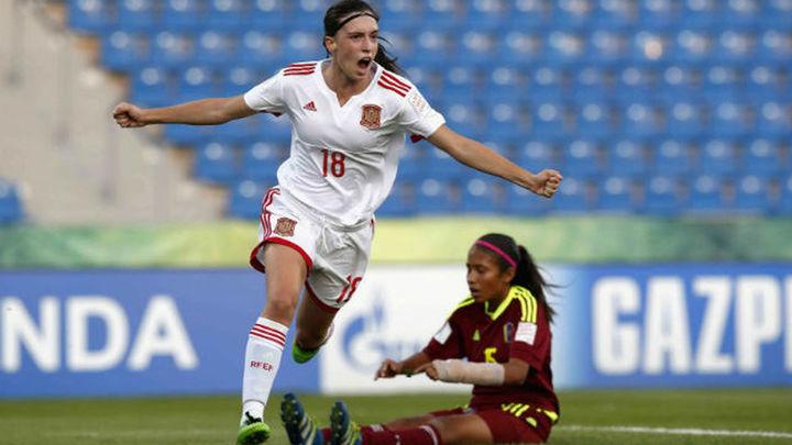 0-4. La Selección sub'17 femenina logra un bronce histórico