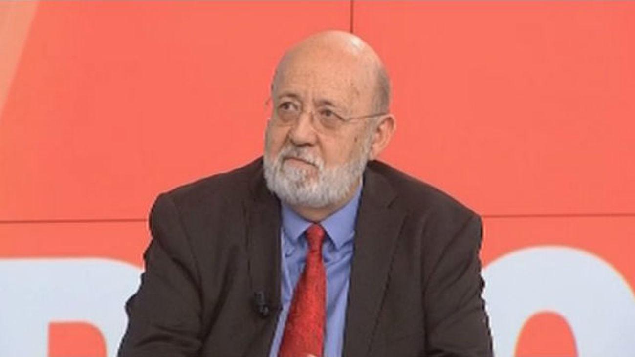 José Félix Tezanos, catedrático en Sociologia
