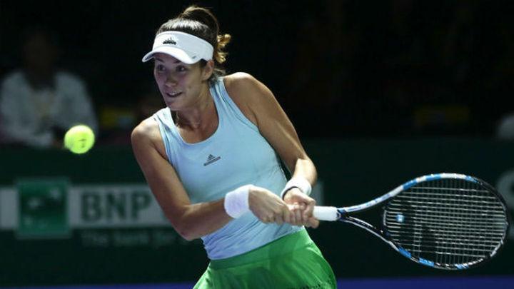 Pliskova vence a Muguruza en su debut en el Masters