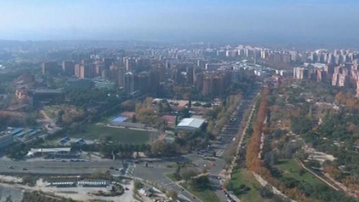 Tarde con mucho ozono en Madrid