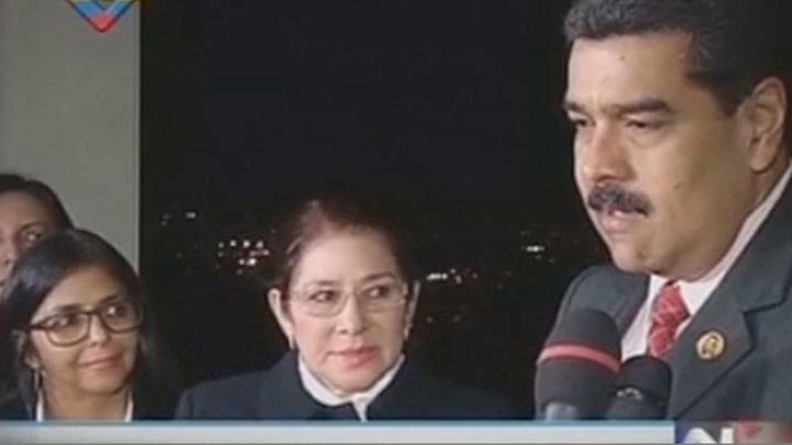 El Gobierno y la oposición de Venezuela anuncian el inicio de un diálogo político
