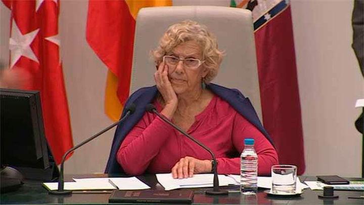 Se suspende el Pleno de Madrid por una indisposición de Manuela Carmena