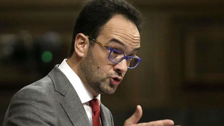 """Hernando a Rajoy: """"No nos gusta como presidente pero sí nos gusta este país"""""""