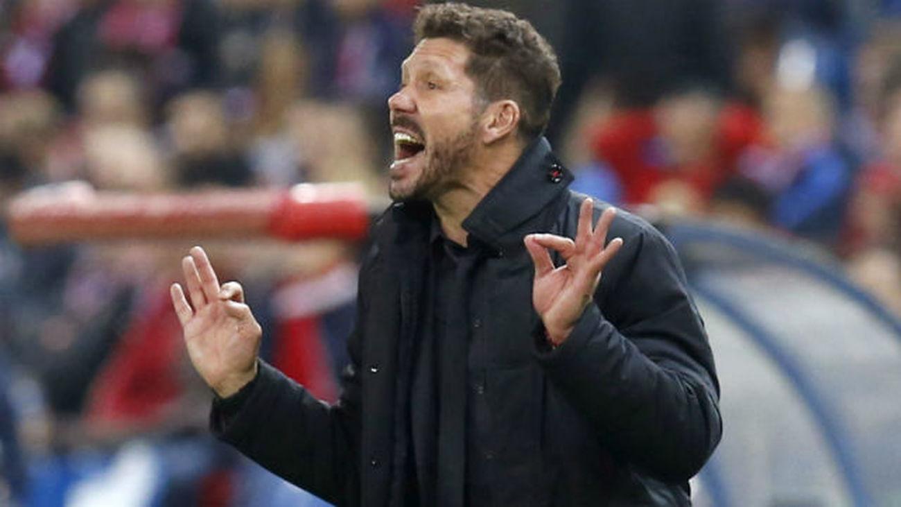 """Simeone: """"Estar una vez más en octavos nos llena de orgullo"""""""