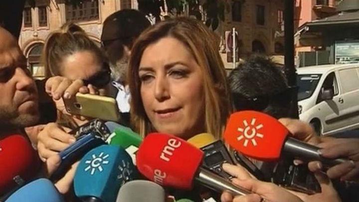 """Susana Díaz considera que no es momento de """"proyectos  personalistas"""""""