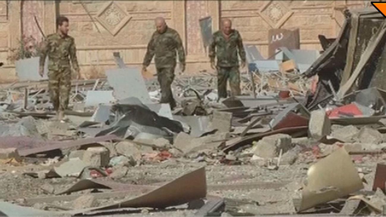 Las fuerzas iraquíes toman la zona oriental de Mosul
