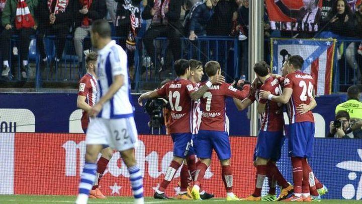 Griezmann y el Atlético contra la exigencia de Anoeta