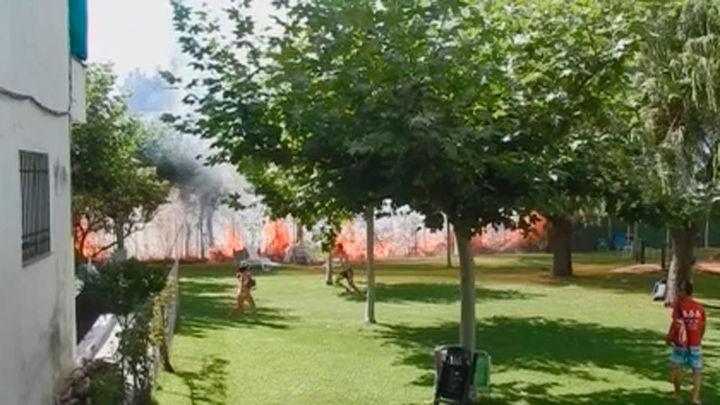 Imputada una limpiadora municipal por prender 10 fuegos en Pelayos de la Presa