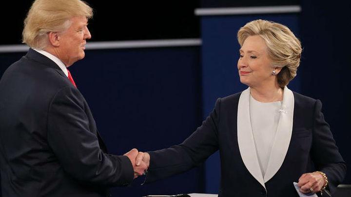 Clinton y Trump inician en Florida el esprint final antes de las elecciones