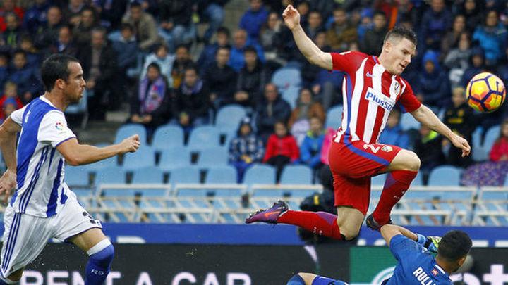 2-0. La Real va en serio y gana al Atlético con goles de penalti