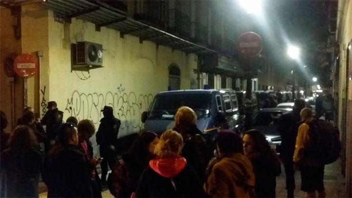 Desalojado de un edificio en Madrid el colectivo Patio Maravillas
