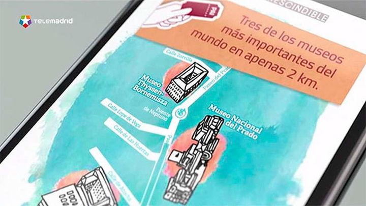 Una aplicación guiará a los visitantes del Prado, el Thyssen y el Reina Sofía