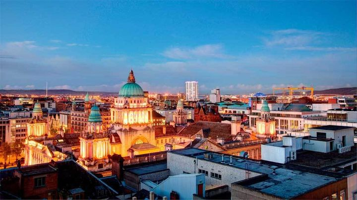Belfast, del Titanic a Juegos de Tronos
