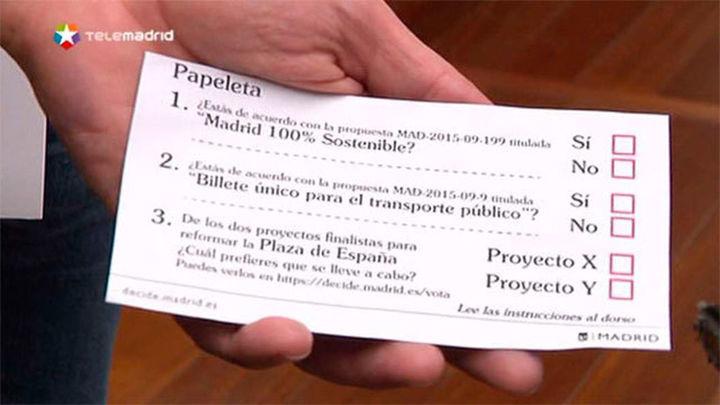 El Ayuntamiento sacará urnas a la calle del 13 al 19 de febrero