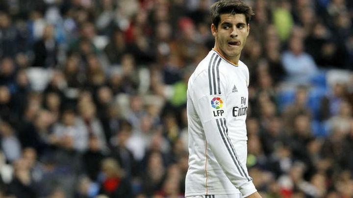 Morata se pierde el derbi por una lesión en el bíceps femoral