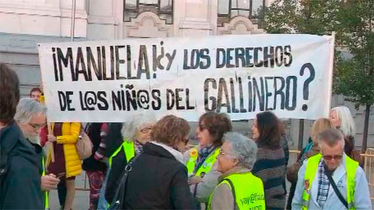"""Vecinos de El Gallinero piden al Ayuntamiento de Madrid que """"cumpla"""" sus compromisos"""