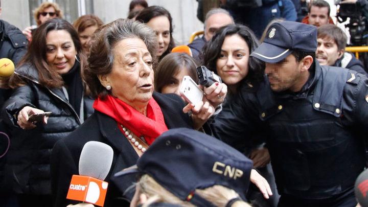 Rita Barberá reconoce ante el Supremo la donación, pero no el blanqueo