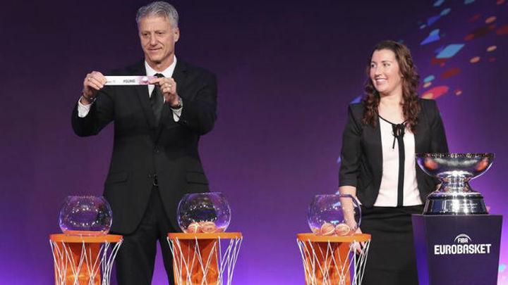 EuroBasket'17: España, Croacia, Montenegro, Chequia, Hungría y Rumanía
