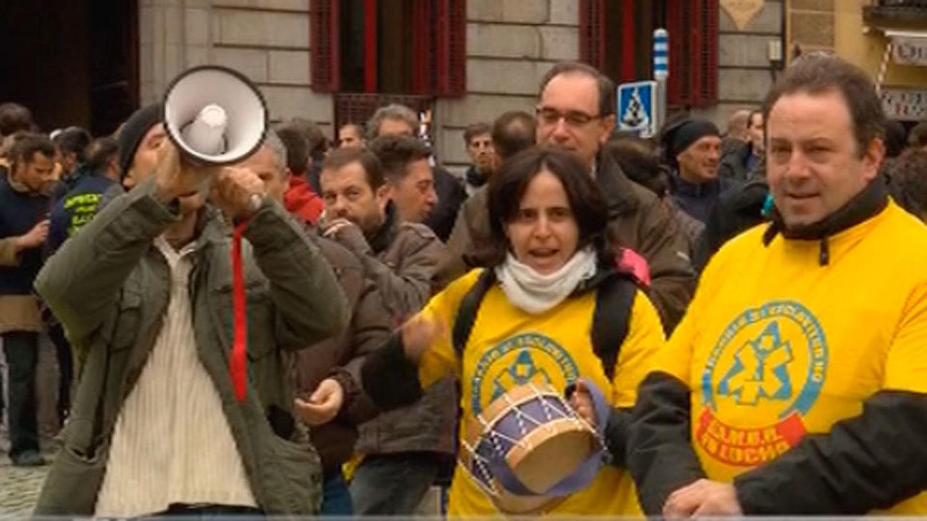 """Empleados del Samur protestan contra las """"carencias en la plantilla"""""""