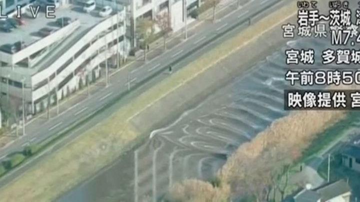 Alerta de tsunami en Japón tras un terremoto de 7,4 en el noreste del país