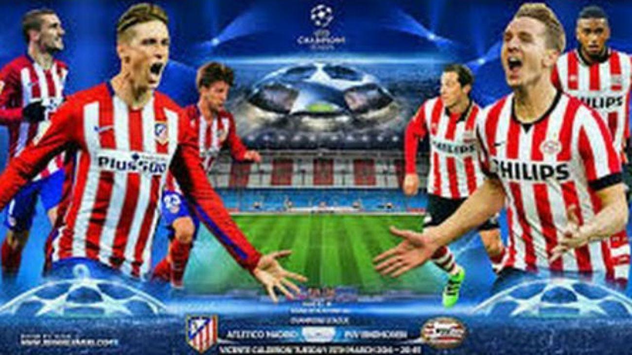 El Atlético, contra las dudas ante el PSV Eindhoven