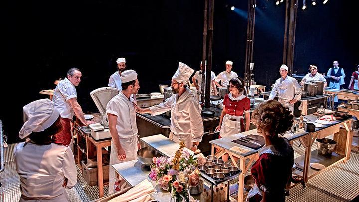 Cuando el escenario se convierte en una cocina descomunal