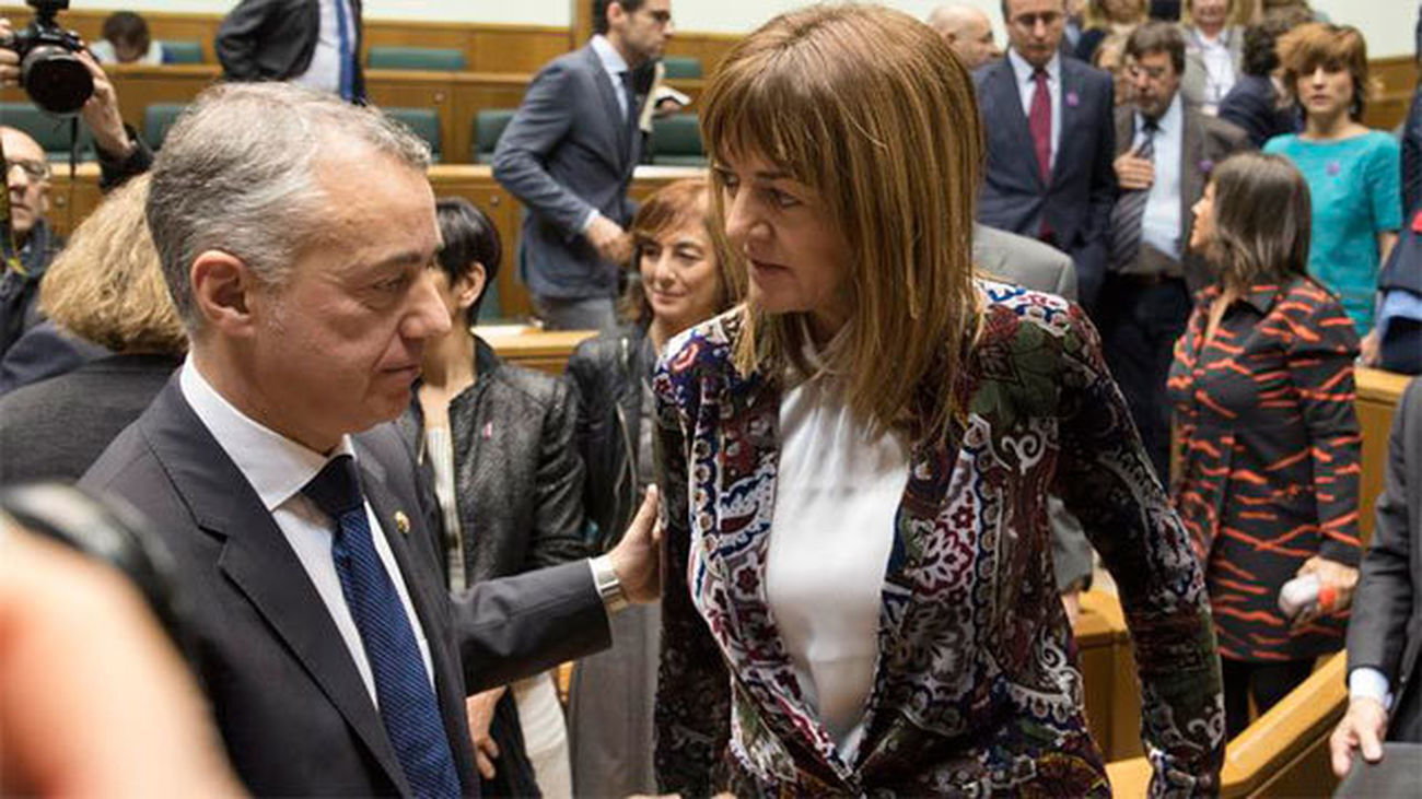 Iñigo Urkullu, reelegido lehendakari con los votos del PNV y del PSE-EE