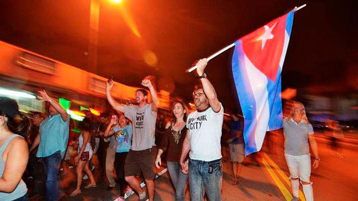 La muerte de Castro hace aflorar emociones y expectativas en Miami