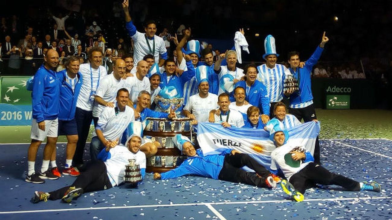 Argentina, campeona de la Copa Davis