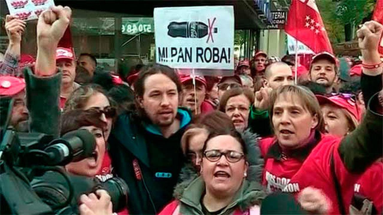 Iglesias acusa a Coca-Cola de intimidar a sus trabajadores