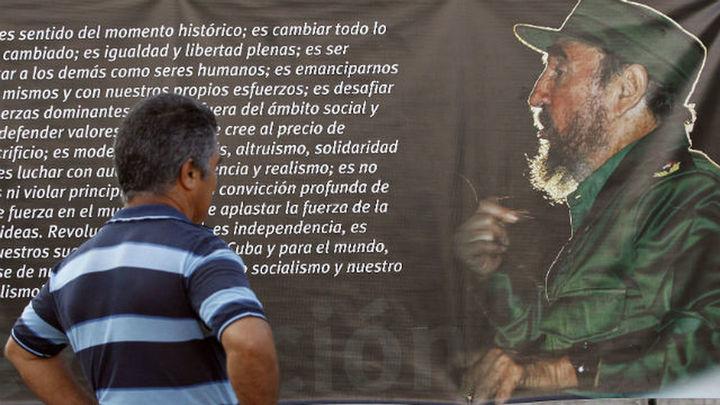 Los restos mortales de Fidel Castro llegan a la ciudad de Santiago de Cuba