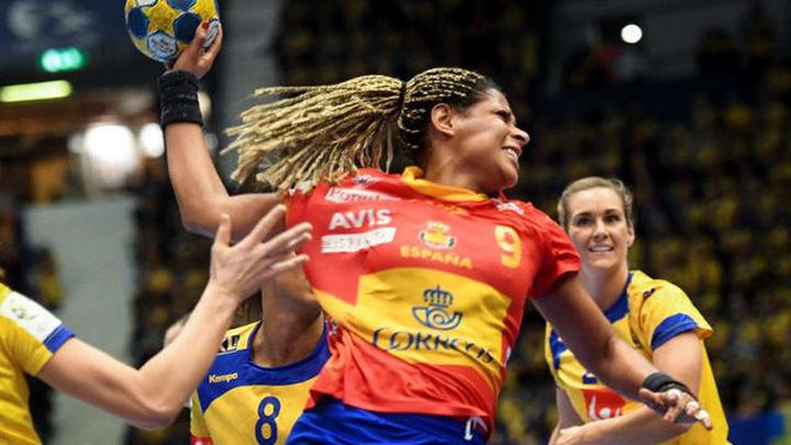 25-19. Las 'Guerreras' ceden ante Suecia en el debut del Europeo